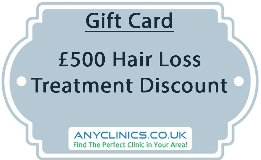 giftcard hair loss discount